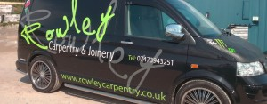 Rowley Carpentry Van